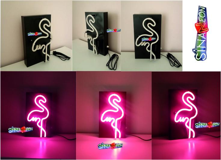 Flamingo Cam Neon