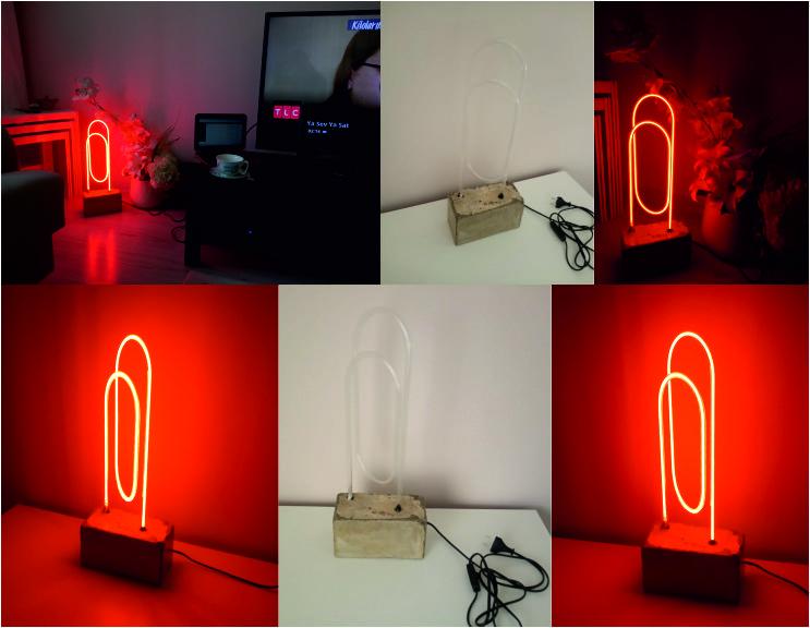 Ev Gece Lambası Neon - Ataç Neon