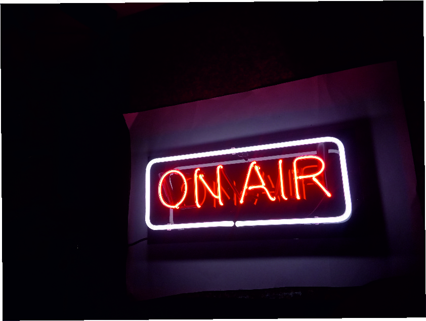on air neon