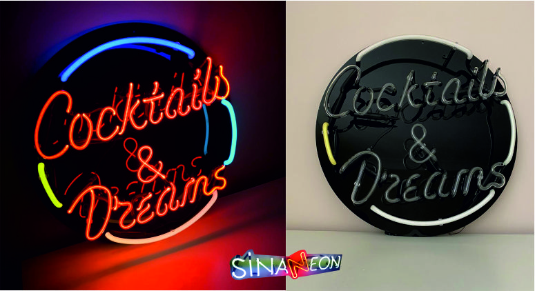 Coctails & Dreams Neon Cam Neon