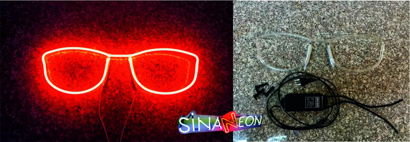 Gözlük Led Neon