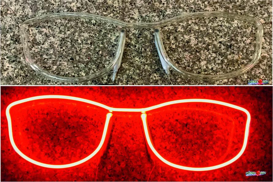 Gözlük Led Tabela