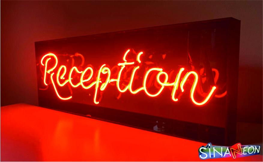 Reception Neon Sign