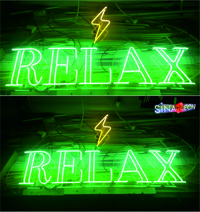 Relax Cam Neon Tabela