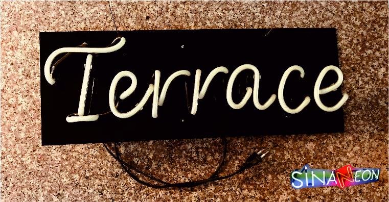 Terrace Led Neon Yazı