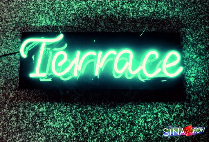 Terrace Neon Sign