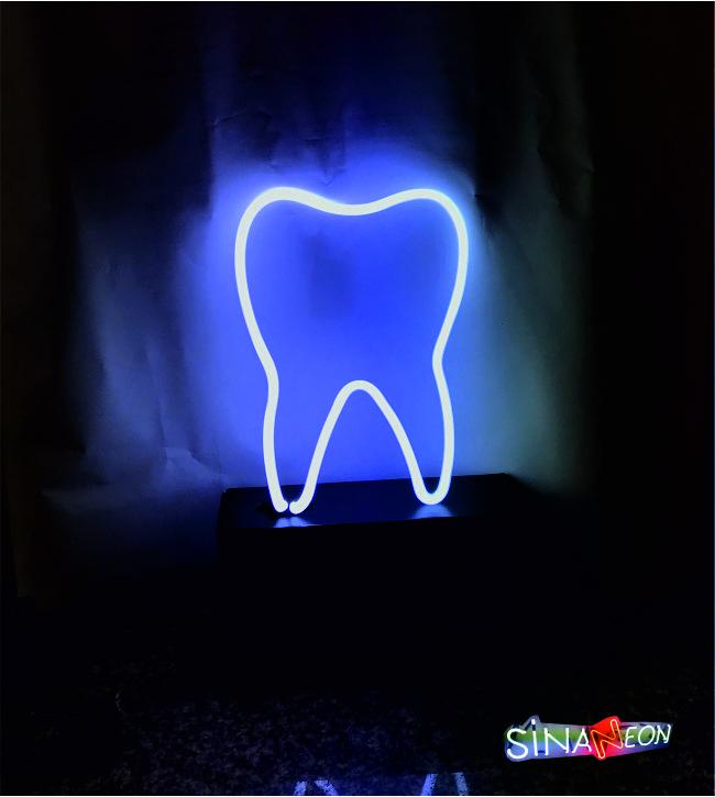 diş neon tabela
