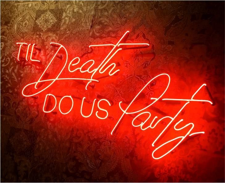 til death do us party neon tabela